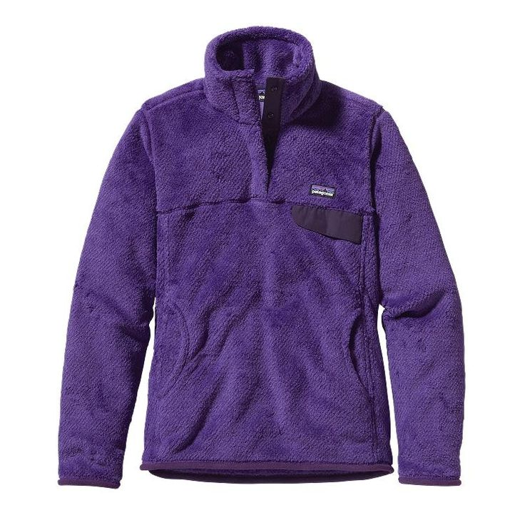 Patagonia Women\'s Re-Tool Snap-T\u00AE Fleece Pullover - Violetti - Tempest Purple X-Dye VTPX-027