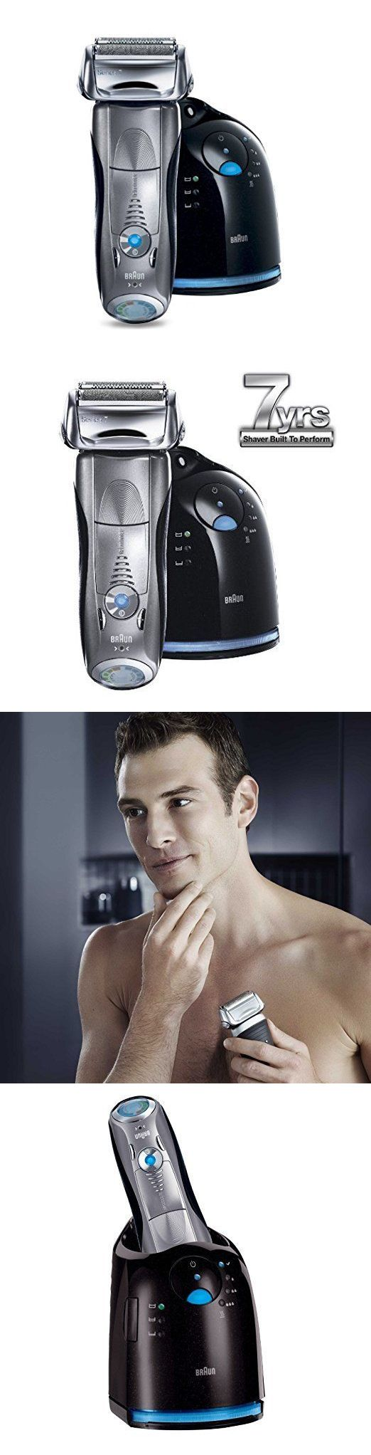 Mens Shavers: Braun Series 7 790Cc Cordless Electric Foil Shaver For Men With Clean And Charge -> BUY IT NOW ONLY: $158.5 on eBay!