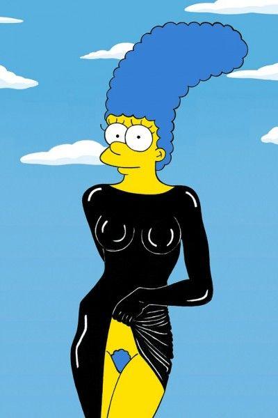 Marge Simpson Iconic photography by Alexsandro Palombo