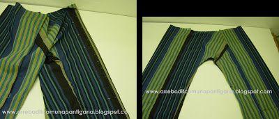 Kubaloo ...tu universo creativo ...: Tengo el mejor tutorial para... coser unos pantalones tailandeses