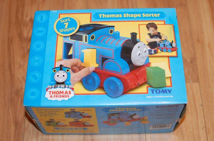 New Tomy Thomas The Tank Engine Train Thomas Shape Sorter
