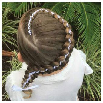 peinados de trenzas para niña paso a paso faciles