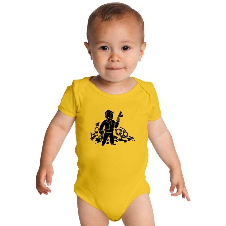Fallout 3 Vault Boy Baby Onesies