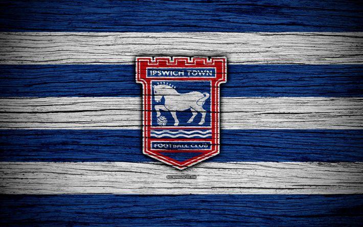 Download Wallpapers Ipswich Town FC, 4k, EFL Championship