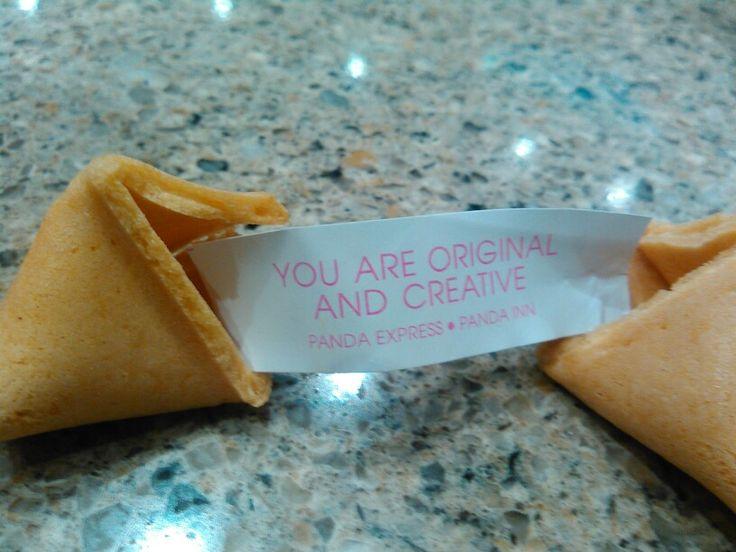 Mi galleta de la suerte :-)