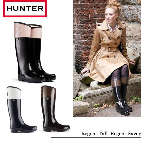 Hunter Regent Carlyle ハンター レインブーツ