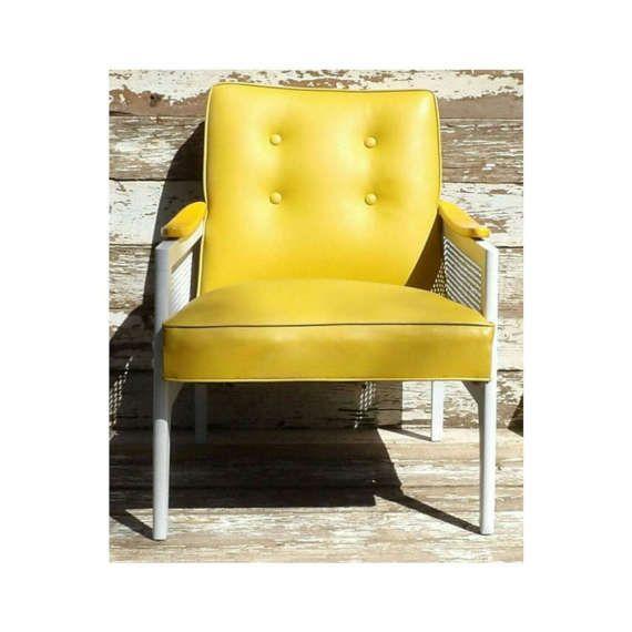 Looking for a unique seating option? ! I swear this fits the bill. @AppLetstag #midcenturymodern #midcentury #vintage #mcm #retro #interiordesign #design #modern #atomic #danishmodern #eames #furniture #architecture #danish #madmen #forsale #midcenturyfurniture #modernist #vintagefurniture #teak #homedecor #modernism #chair #decor #hermanmiller #midcenturydesign #picker #1960s #interiors #60s https://www.etsy.com/listing/519283703/club-chair-vinyl-naugahyde-yellow-white