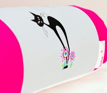 The Cats Whiskers #cats#whiskers#pink#girl#nursery#linen#cotlinen#baby#toddler#decor#design#babeliciousdecor