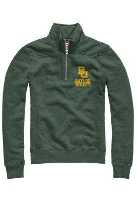 Product: Baylor University Women's 1/4 Zip Sweatshirt