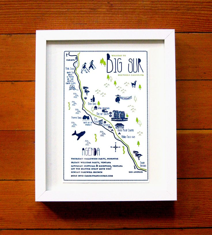 an instant heirloom a custom map of the big day