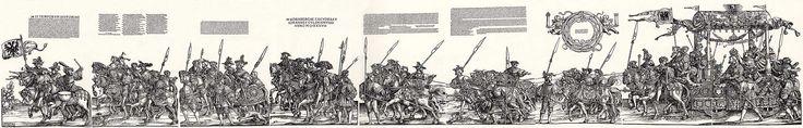 Hans Leonhard Schäufelein, Title: Triumphzug des Kaisers Karl V., Detailtafel 2, Date: 1537, Nördlingen