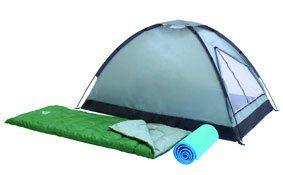 Pack Camping 2 Places Tente + Couchages + Tapis de sol au meilleur prix ! - LeKingStore