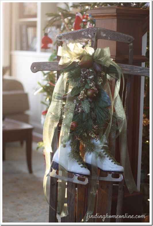 1000 Ideas About Christmas Sled On Pinterest Sled Decor