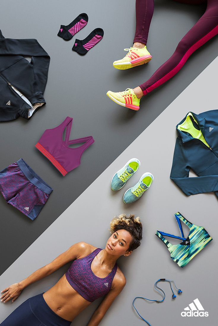 The gear you need to get it done. Temperature-taming shoes and layers meet vivid color pops, keeping your body cool, your mind motivated. Pair the adidas Climacool Supernova bra with adidas climachill cosmic boost running shoes for 360-degree ventilation.   Products only available in the USA.