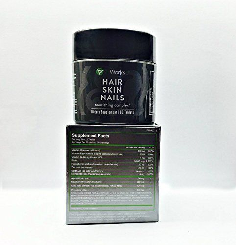 "Brand new sealed, ships same day, grows thicker fuller hair. Always in stock BUY WITH CONFIDENCE *******   	 		 			 				 					Famous Words of Inspiration...""""I often quote myself. It adds spice to my conversation.""					 				 				 					George Bernard Shaw 						— Click here for... more details at http://supplements.occupationalhealthandsafetyprofessionals.com/vitamins/hair-skin-nails-complex/product-review-for-it-works-hair-skin-nail/"
