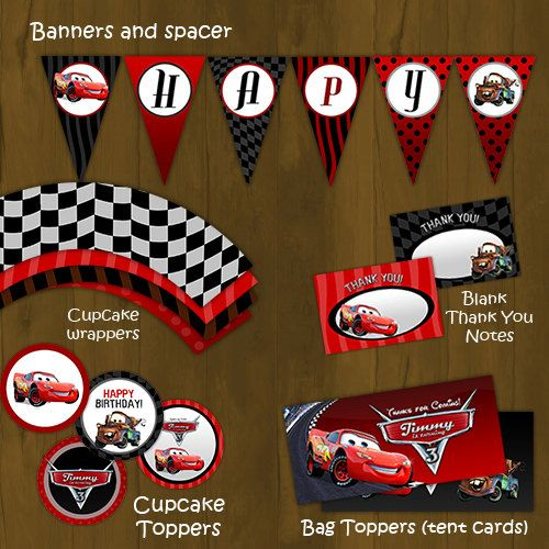97 best thème cars images on pinterest | car party, cars birthday, Birthday invitations