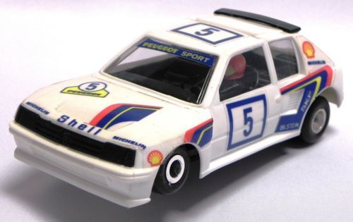 APS-Polistil-Policar-Peugeot-205-31204-Slot-car-Made-in-Italy-1-32