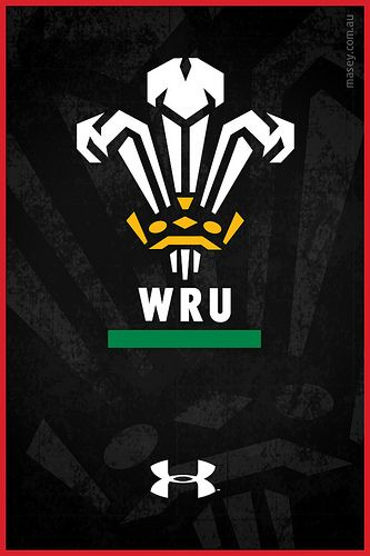 Welsh Rugby iPhone Wallpaper