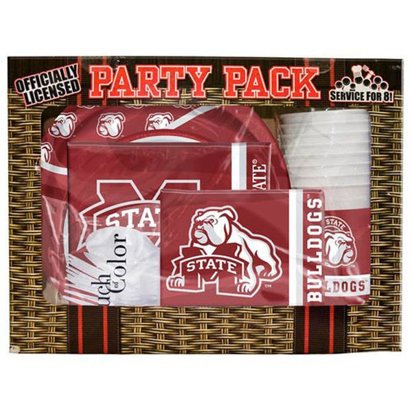 Mississippi State Bulldogs Game Day Party Pack - $24.99