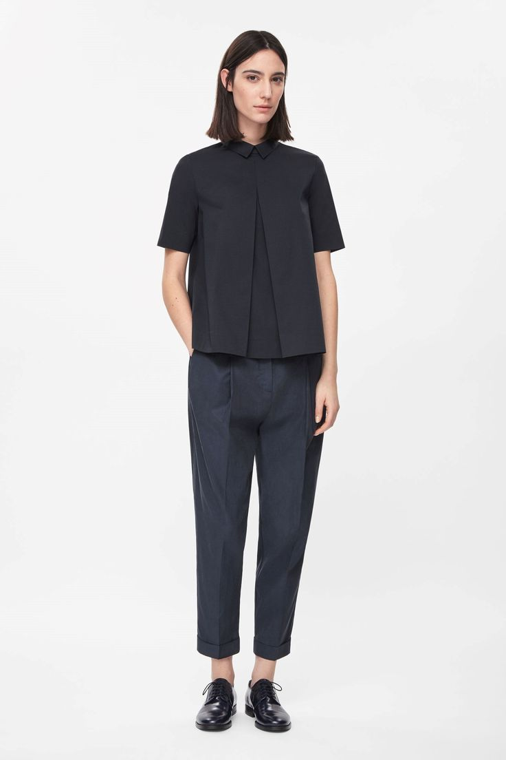 Cut - Cos Pleated front shirt