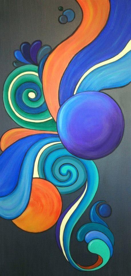 Las 25 mejores ideas sobre imagenes de arte abstracto en for Imagenes de cuadros abstractos geometricos