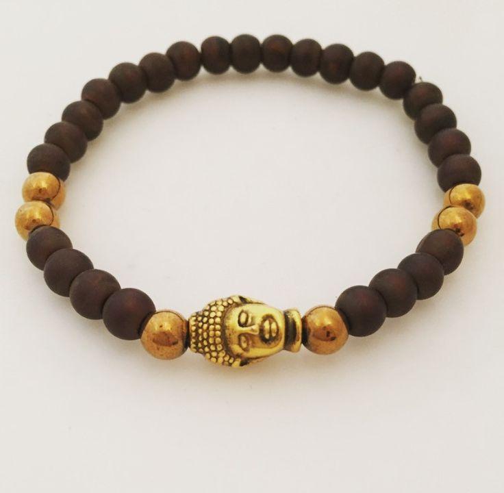 Buddha Brun/Guld