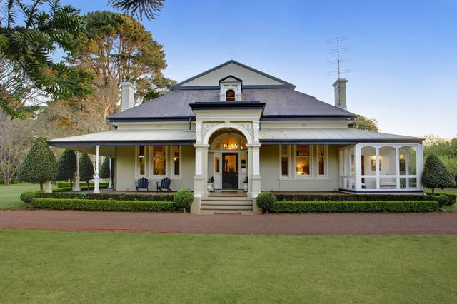 A stunning home in the Southern Highlands minutes from Bowral (NSW, Australia) .... it would suit me very well :)