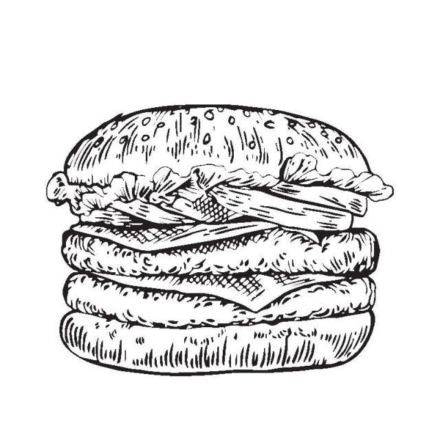 تفاصيل متفرقة خمر همبرغر مرسومة باليد رسم توضيحي رسم طعام مرسومة باليد Png والمتجهات للتحميل مجانا How To Draw Hands Draw Hamburger