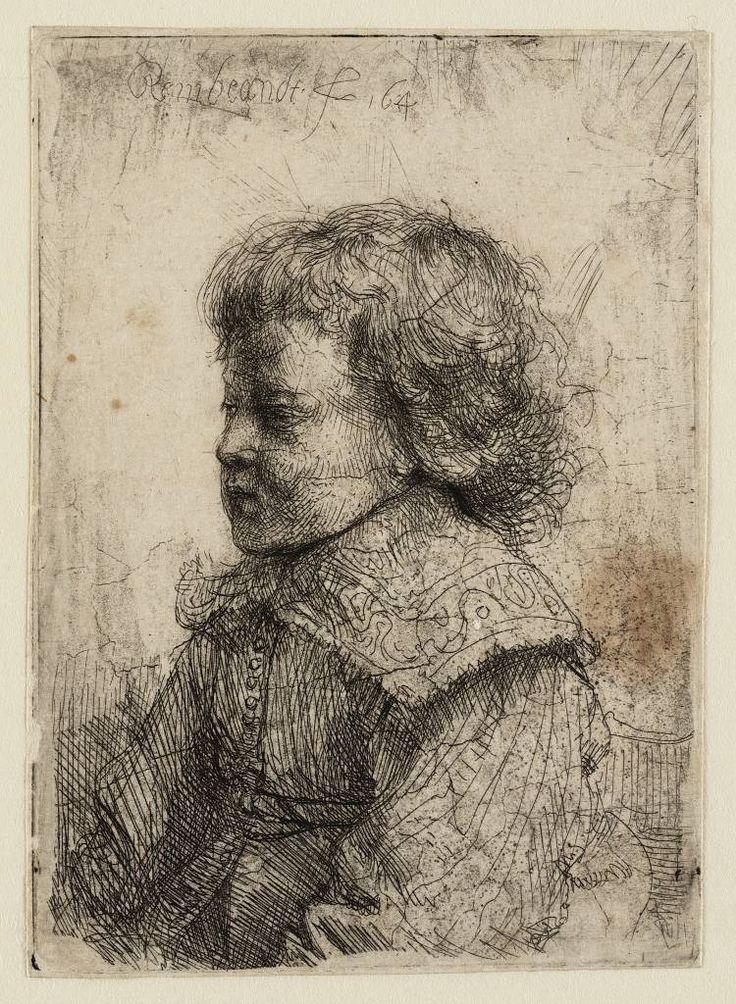 Mijn favoriete Rembrandt in Teylers Museum: Portret van een jongen (Willem II ?) (B310)
