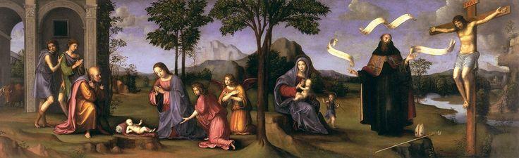 adorati2FRANCIA, Francesco.jpg Поклонение Младенцу, ок. 1498-1499