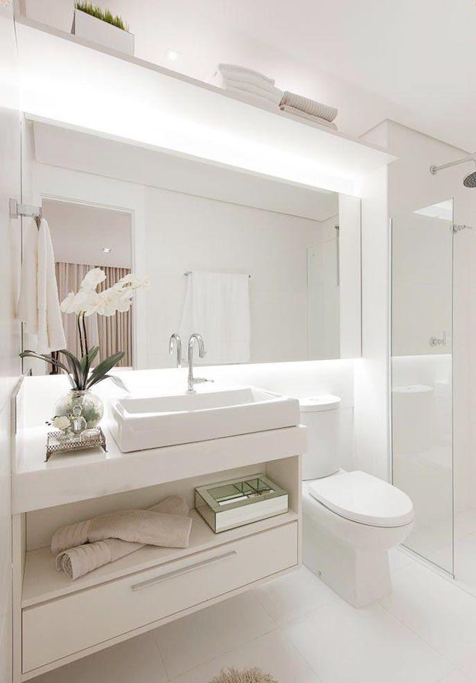 Seja pelas bancadas ou pelo revestimento das paredes, estes ambientes servem de inspiração para os usuários