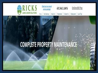 Ricks offer the Lawn Mowing Company, Weekly Mowing, Lawn Fertilizing Company, Weed Control Company, Irrigation Maintenance, Blow Out and Irrigation Start Up in the area of Anoka, Andover, Coon Rapids, Blaine, Champlin, Brooklyn Park, Fridley, Brooklyn Center, Osseo.#http://www.rickslawnandsnow.com/lawn-care-fertilizer