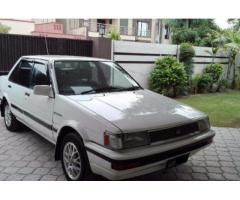 Toyota Corolla 1986 Model White Color In Excellent Condition Sale In Lahore