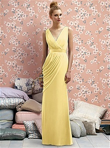 Lela Rose Bridesmaids Style LR174    #yellow #bridesmaid #dress