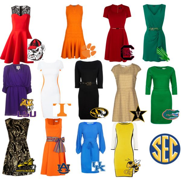 """2013 Georgia Bulldogs schedule looks 'pretty' good!"" by sheliafrey on Polyvore"