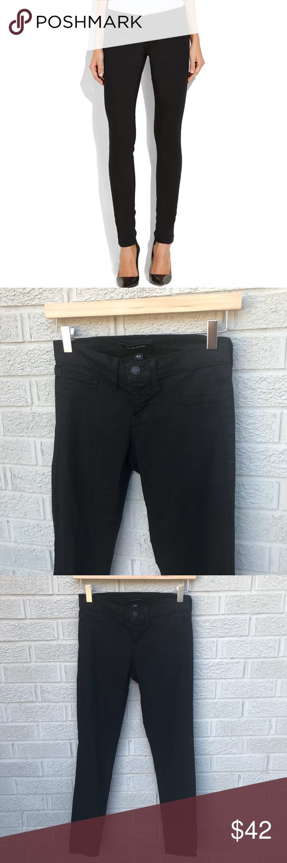"""Flying Monkey Faux Pocket Skinny Jeans - Black Flying Monkey Faux Pocket Skinny Jeans in Black! Super soft & stretchy! Ultra flattering! Size 25. 42% Lyocell, 33% Cotton, 15% Rayon, 9% Poly & 1% Spandex. 13"""" across the waist,  7.5"""" Rise & 28"""" inseam. Previously loved. KG Flying Monkey Jeans Skinny"""