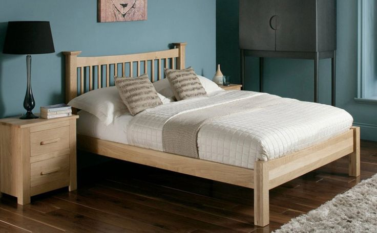 Aston Solid Oak Single Bed Only £269.99   Furniture Choice