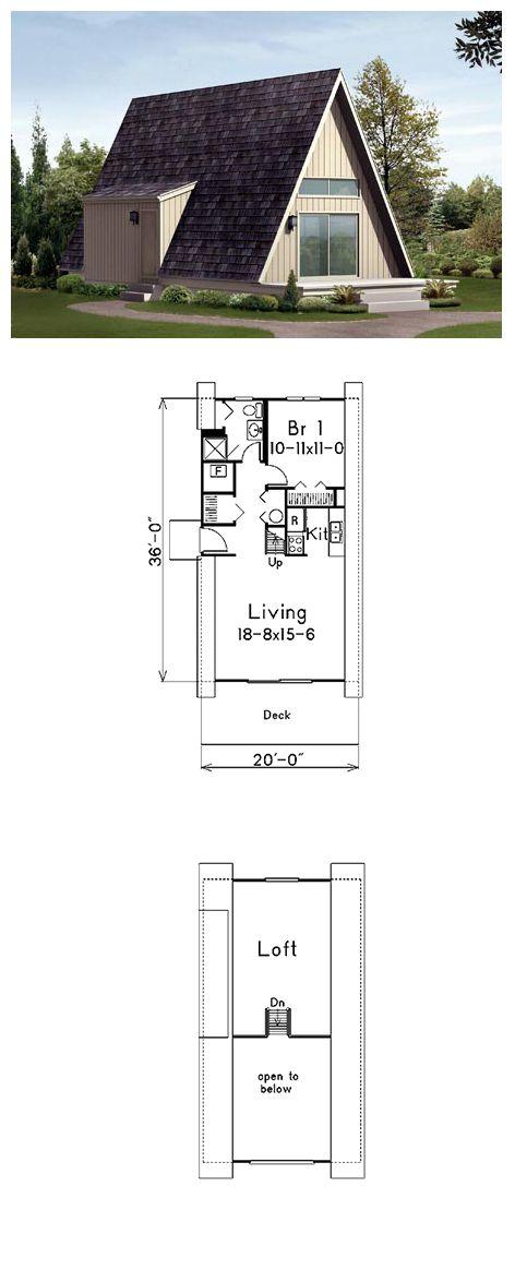 a frame cabin house plan 85944 - 3 Bedroom A Frame House Plans