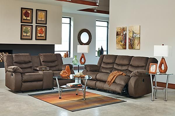 For A Relaxing Afternoon The Chivington Reclining Sofa Contemporary Living Rooms