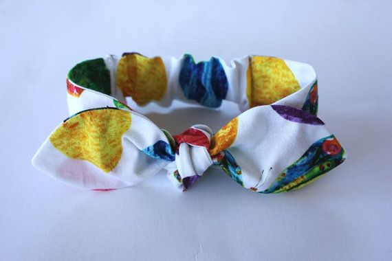 Baby headband Hungry Caterpillar baby girl by ElleBelleBliss $12 AUD