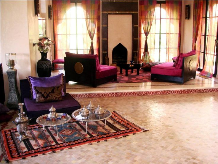 Moroccan Living Room (colors Of The Chairs Are Awesome) Part 61