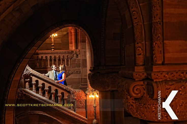staircase engagement photo - Google Search