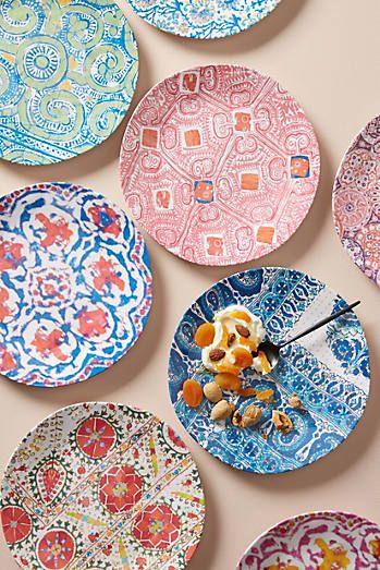 Tula Melamine Dinner Plate