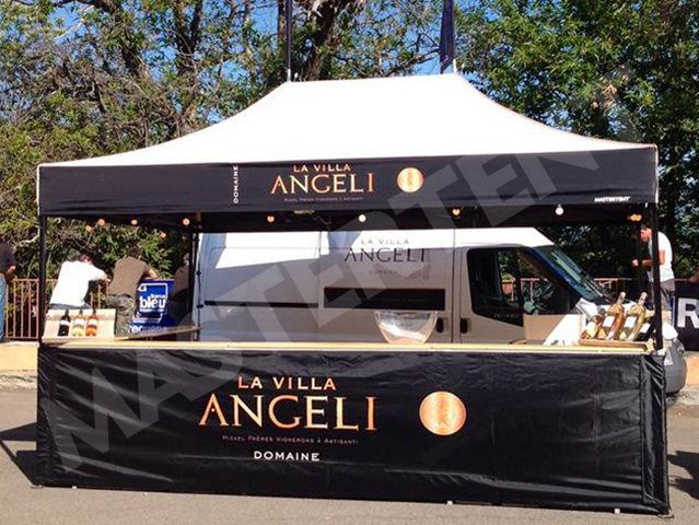 La Villa Angeli #tent for events
