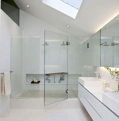 37 best @home white bathrooms | witte badkamers images on Pinterest ...