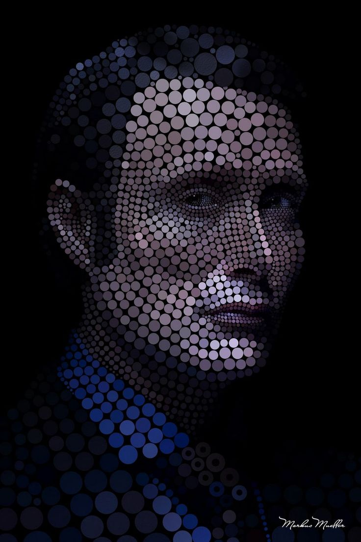 Digital Portraits by Markus Müller | it COLOSSAL