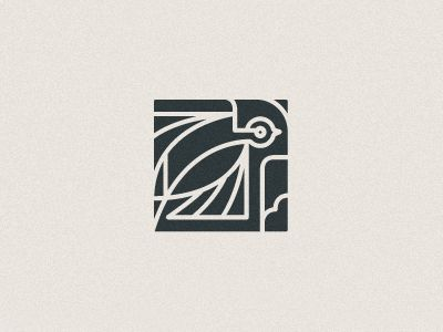 Swallow Stamp  by Scott Hill | dribbble