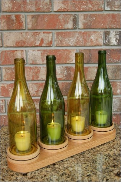 This beautiful decorative handcrafted wooden stand wine for Decor 750ml