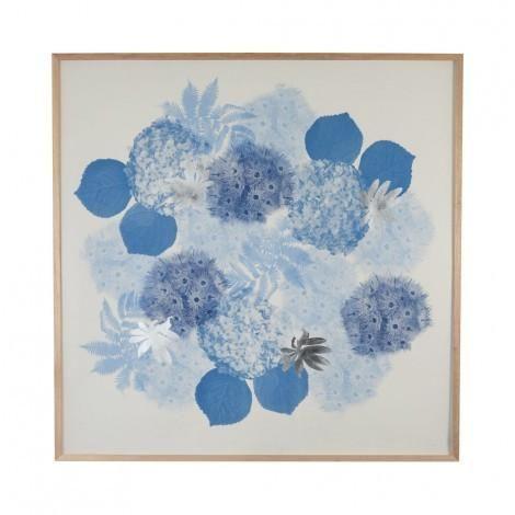 Flowering Gum Print in Blue | Bonnie & Neil – Salt Living or online at www.saltliving.com.au #saltliving #bonnieandneil #screenprinting #linen #handmade #print #art