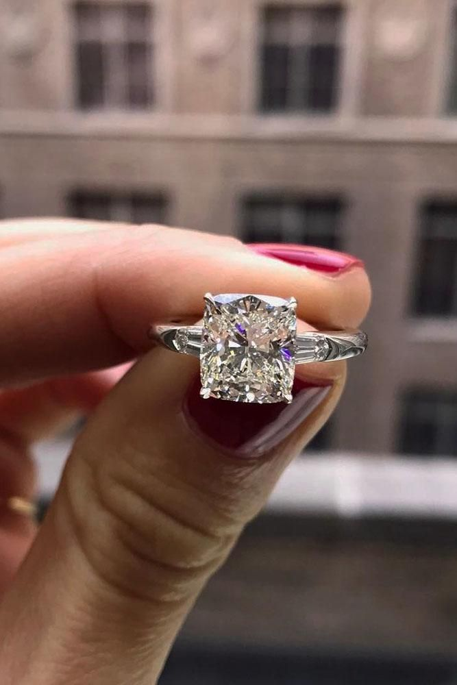 Perfect Solitaire Engagement Rings For Women ★ #engagementring #proposal